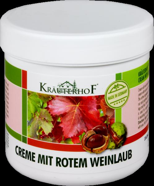 Kräuterhof Creme mit Rotem Weinlaub, 250 ml