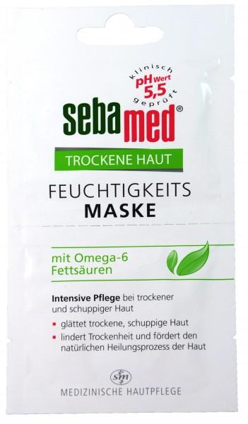 Sebamed Trockene Haut Feuchtigkeits-Maske, 2 x 5 ml