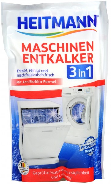 Heitmann Maschinen Entkalker 3 in 1, 175 g