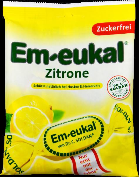 Em-Eukal Zitrone Zuckerfrei, 75 g