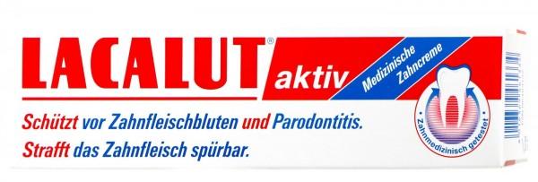 Lacalut Aktiv Zahncreme Zahnfleischbluten & Parodontose, 100 ml