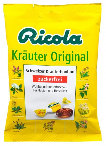 Ricola Kräuterzucker Zuckerfrei, 75 g