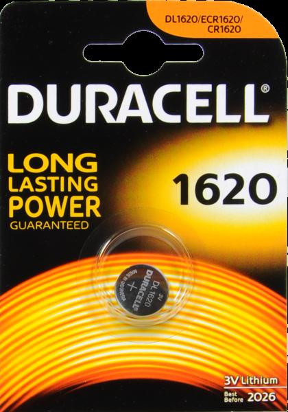 Duracell Lithium Batterie 1620, 3 V