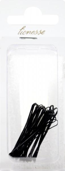 Haarklemme Schwarz 4,5 cm, 20 er