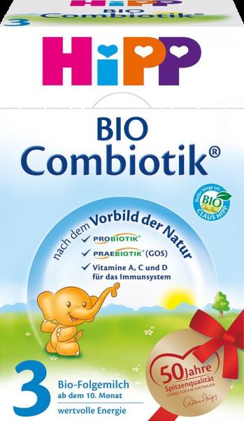 Hipp 2033 Bio Folgemilch 3 Combiotik, 600 g