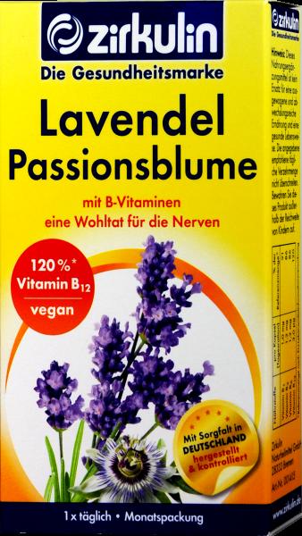 Zirkulin Lavendel Passionsblume, 30 er
