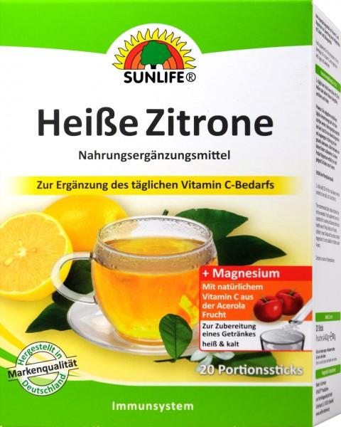 Sunlife Heiße Zitrone Acerola, 20 er