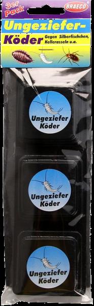 Braeco Ungeziefer-Köder, 3 er