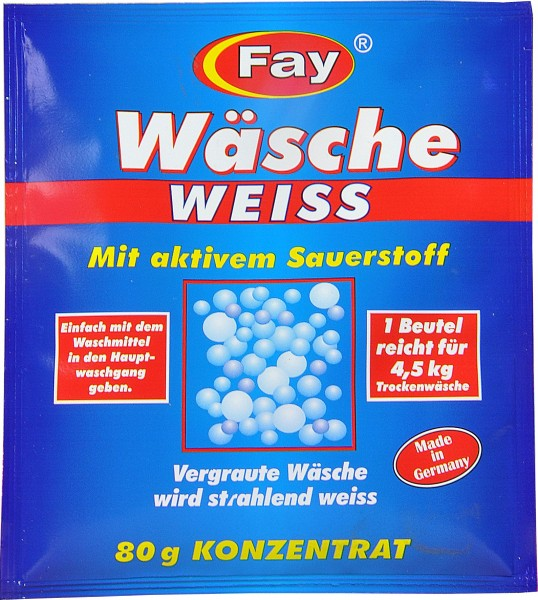 Wäscheweiß, 80 g