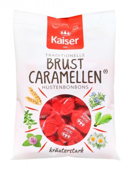 Kaiser Brust Caramellen Bonbon, 100 g