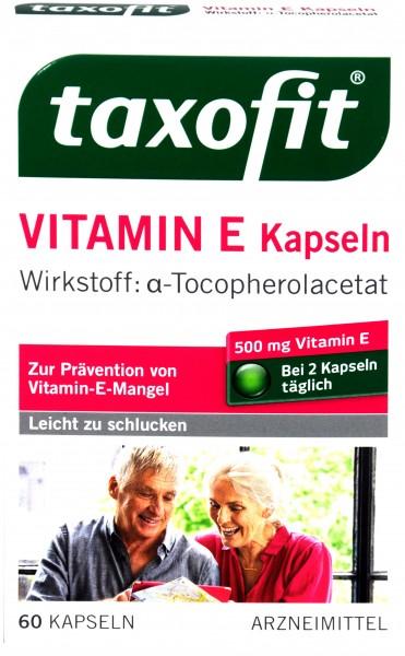 Taxofit Vitamin E, 60 er
