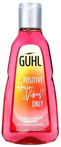 Guhl Shampoo Energy & Repair Cranberry & Guarana, 250 ml