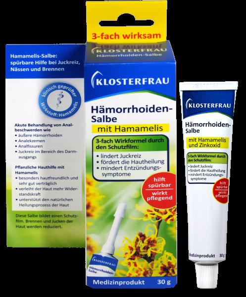 Klosterfrau Hämorrhoiden-Salbe, 30 g
