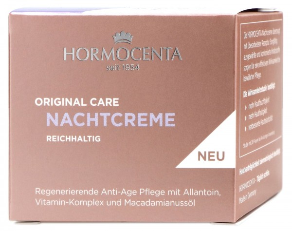 Hormocenta Original Care Nachtcreme, 50 ml