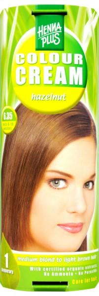 Hennaplus Colour Cream Haselnuss, 6.35