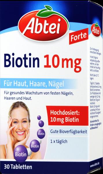 Abtei Biotin 10 mg Tabletten, 30 er