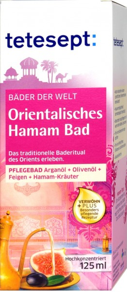 Tetesept Orientalisches Hamam Bad, 125 ml