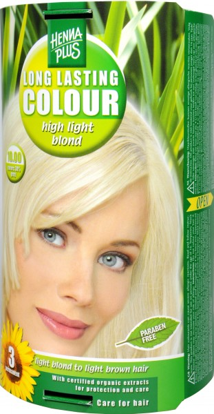 Hennaplus Long Lasting Aufheller Blond, 10.00