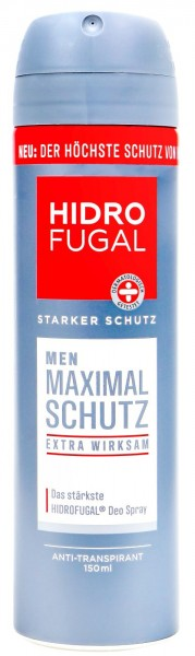 Hidrofugal Men Maximal Schutz Deo Spray, 150 ml