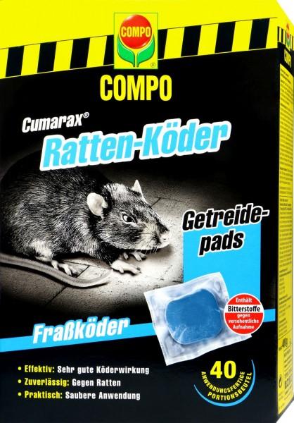 Compo Rattenköder Cumarax, Getreidepads, 400 g
