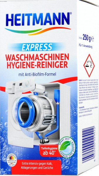Heitmann Express Waschmaschinen Hygienereiniger, 250 g