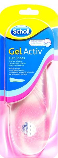 Scholl GelActiv Einlegesohle Flache Schuhe, 1 Paar