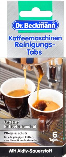 Dr. Beckmann Kaffeemaschinen Reinigungstabs, 6 er