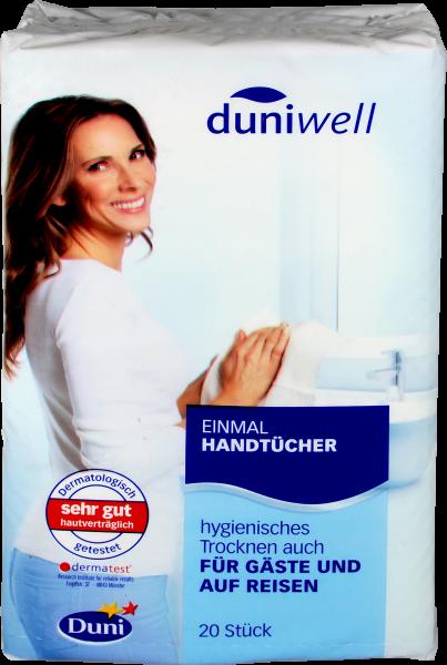 Duniwell Einmalhandtücher, 20 er