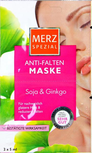 Merz Spezial Anti-Falten Maske Soja & Ginkgo, 2 x 5 ml