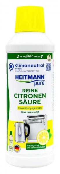 Heitmann Pure Reine Citronensäure gegen Kalk, 500 ml