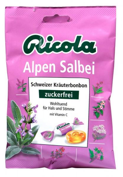 Ricola Alpen Salbei Zuckerfrei, 75 g