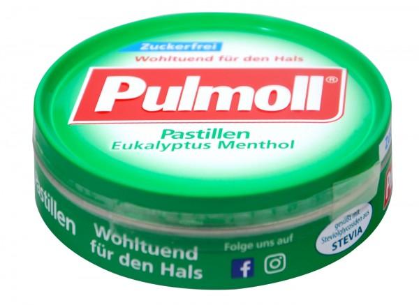 Pulmoll Eukalyptus Menthol Zuckerfrei, 50 g