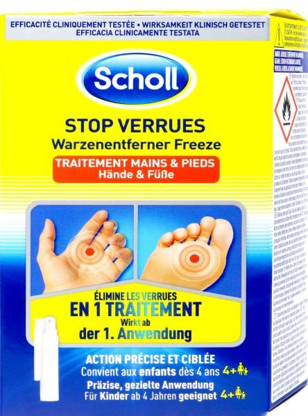 Scholl Warzenentferner Freeze, 80 ml