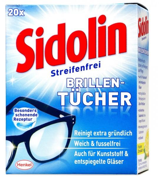Sidolin Brillenputztuch, 20 er