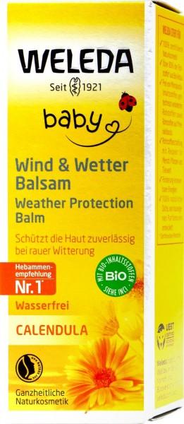 Weleda Calendula Baby Wind und Wetter Balsam, 30 ml