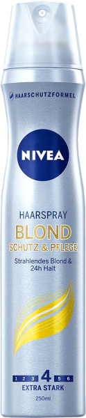 Nivea Haarstyling Spray Blond, 250 ml
