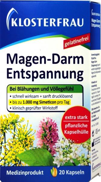 Klosterfrau Magen-Darm-Entspannung Kapseln, 20 er