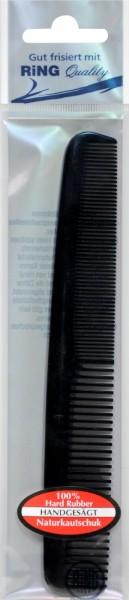 Kamm Herren Naturkautschuk Schwarz, 178 mm