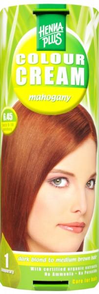 Hennaplus Colour Cream Mahagonie, 6.45