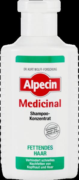 Alpecin Medicinal Konzentrat Shampoo - Fettiges Haar, 200 ml