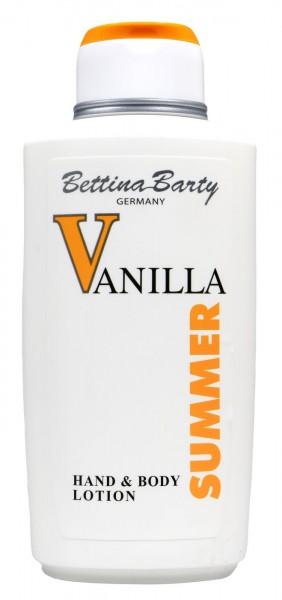 Bettina Barty Vanilla Summer Hand Body Lotion, 500 ml
