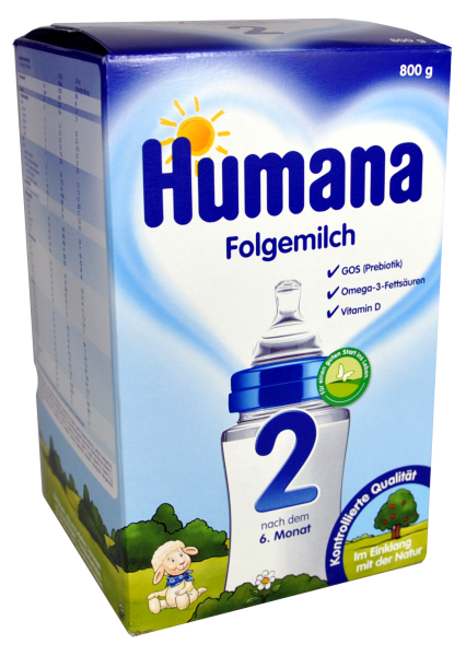 Humana Folgemilch 2, 700 g