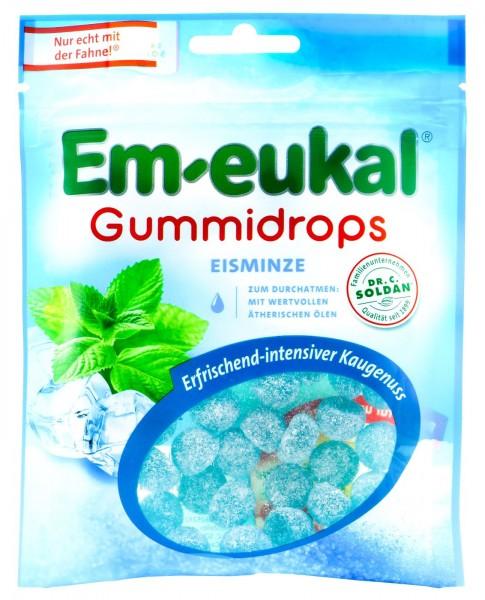 Em-Eukal Gummidrops Eisminze, 90 g