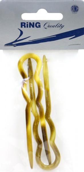 Haarnadel Acetat Gross 9 cm, 2 er