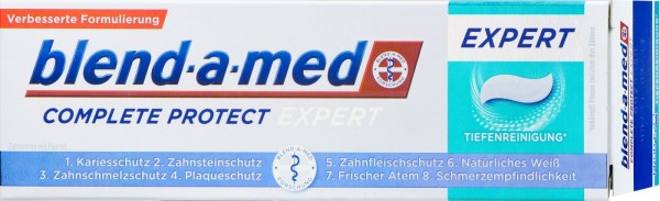Blend-a-Med Complete Protect Expert Tiefenreinigung, 75 ml