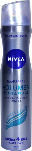 Nivea Haarstyling Spray Volumen Sensation, 250 ml