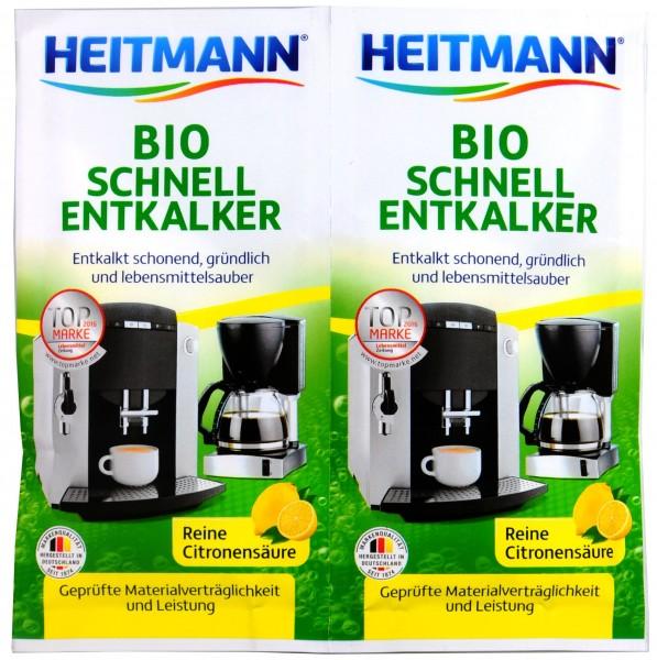 Heitmann Bio-Schnell Entkalker, 2 x 25 g