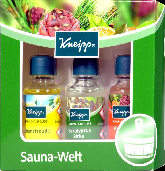 Kneipp Sauna Welt Geschenk-Set, 3 x 20 ml