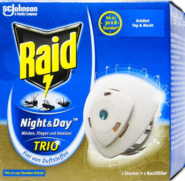 Raid Insektenstecker Night & Day Original, 7 g