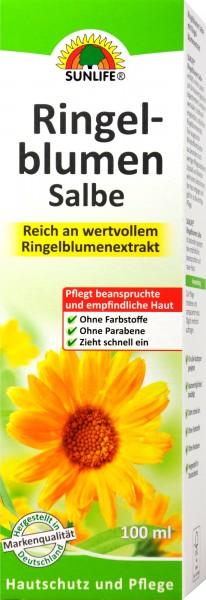 Sunlife Ringelblumensalbe, 100 ml